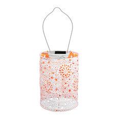Soji Stella Solar Lantern, Neon Series, Neon Orange