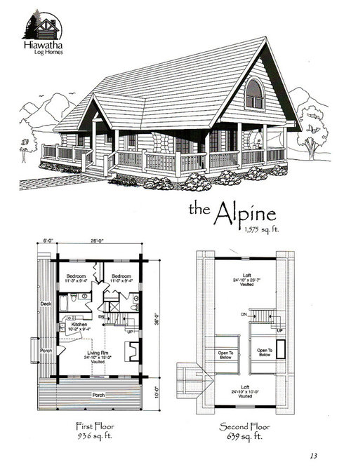 Stunning Log Home Designs And Floor Plans Pictures - Amazing House ...