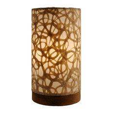 Paper Cylinder Lamp Mini Swirl