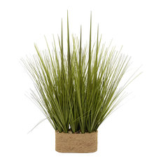 Faux Grass Pot