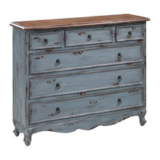 Crestview Collection - Crestview Collection CVFYR892 Shoreview 4-Drawer Cabinet - Accent Chests and Cabinets
