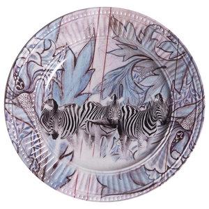 Jungle Zebra Side Plates, Set of 2