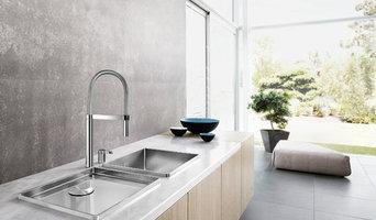 Stylish kitchen sinks