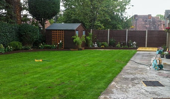 Garden maintenance project in Sheffield