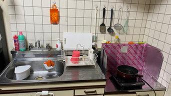キッチン周り before