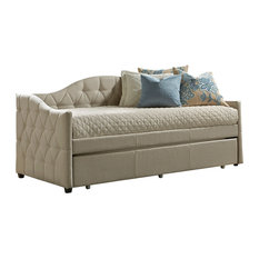 Hillsdale Furniture - Hillsdale Jamie Daybed With Trundle, Beige - Daybeds