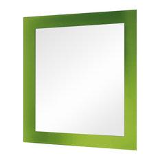 Magic Bathroom Mirror, Green, 60x70 cm