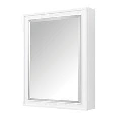 "Avanity Madison 24"" Mirror Cabinet, White finish"