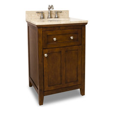 Chatham Shaker Vanity - Chocolate
