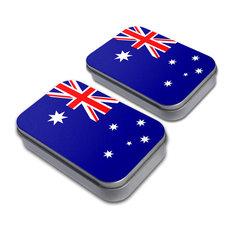 Flag of Australia Tin Set