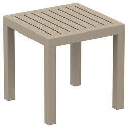 Transitional Outdoor Side Tables by Grayburd