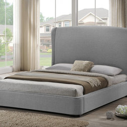 Transitional Panel Beds by HedgeApple