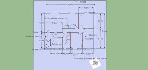 besoin d 39 aide plan r novation pavillon sur sous sol. Black Bedroom Furniture Sets. Home Design Ideas