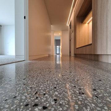 New Home-Polished Concrete Floor Semi Gloss McCrae Victoria