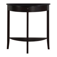 32-inch Solid Wood And Mdf Accent Table