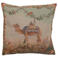 "Camel French Cushion, 19""x19"", Cushion"