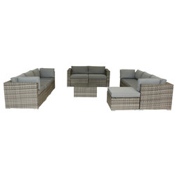 Tropical Outdoor Lounge Sets by Luxury Living Furniture