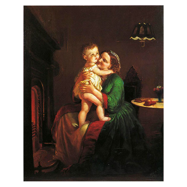 Mother And Child by The Hearth Art, 15
