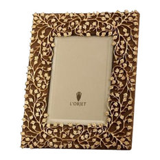 lobjet lobjet lorel gold photo frame 8x10 picture frames