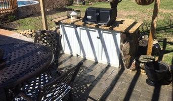 Out door BBQ Granite Countertops