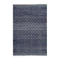 Safavieh Ashling Flatweave Rug, Navy, 4'x6'