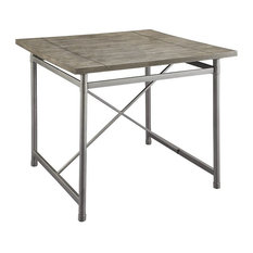 ACME Kaelyn II 42-inch Square Counter Height Dining Table In Gray Oak