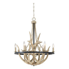 Chandelier Earth Black 6-Light