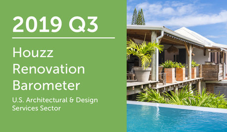 2019Q3 Houzz Renovation Barometer - Architectural & Design Sector