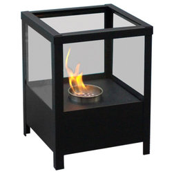 Contemporary Indoor Fireplaces by Serenity Health & Home Decor