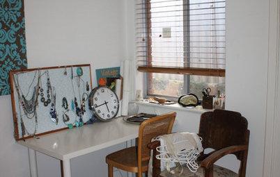 A Junk Room Gets a Crafty Makeover
