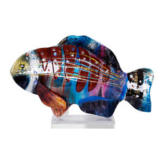 Fish Sculpture, 18""
