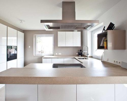 Moderne Küchen mit Linoleumboden Ideen & Bilder | {Küchen u form modern 66}