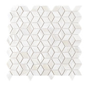 "11.88""x11.88"" Delta Mother of Pearl Mosaic Tile Sheet"