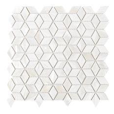 "Tile Generation - 11.88""x11.88"" Delta Mother of Pearl Mosaic Tile Sheet - Mosaic Tile"