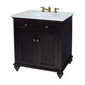 "Bimini Bathroom Vanity, Espresso, 30"""