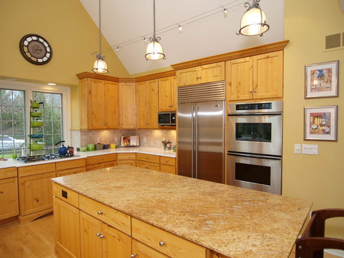 Paint Color In Kitchen With Hickory