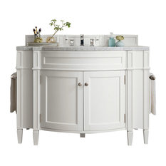 Brittany 46-inch Vanity Cottage White 3cm Arctic Fall Top