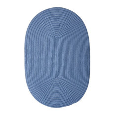 Colonial Mills, Inc - Colonial Mills Boca Raton Blue Ice Rug, 10x13 - Outdoor Rugs
