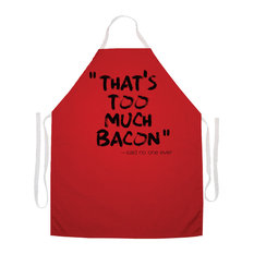 """Too Much Bacon"" Apron"