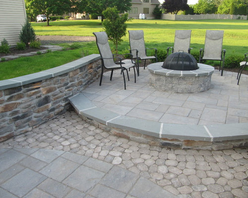 Techo bloc patio ideas, pictures, remodel and decor