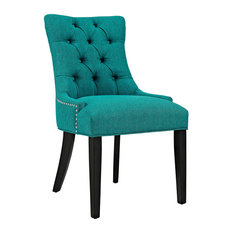 Regent Fabric Dining Chair, Teal