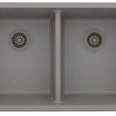 Domain Industries Inc.   Lexicon Platinum Sink, Concrete   Kitchen Sinks