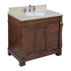 Kitchen Bath Collection Westminster Vanity Base Brown 36 Top