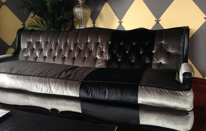 Project Rehab: Sofa Picked Up on Side of Road Gets Chic Makeover