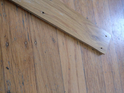How To Re Install Face Nailed Oak Flooring