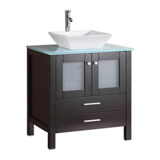 50 Most Popular Vessel Sink Bathroom Vanities For 2019 Houzz
