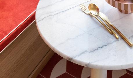 La table en marbre, intemporelle ou tendance ?