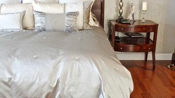 Glamorous Master Bedroom