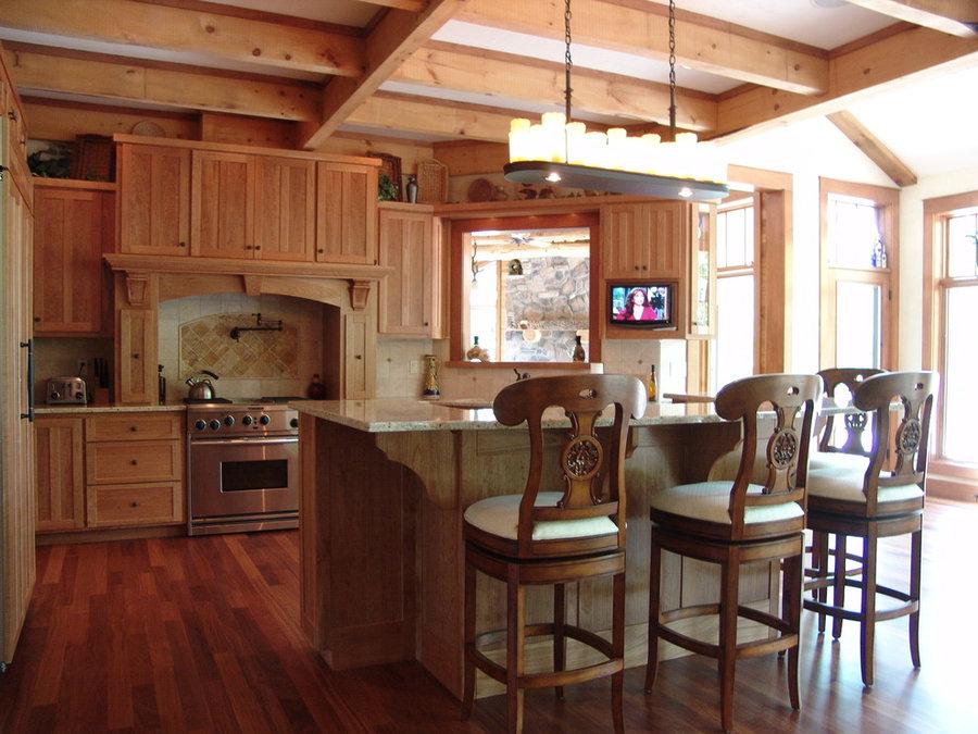 Kitchen Television Installation