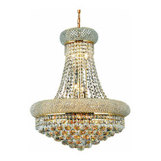 Primo 14-Light Chandelier, Royal Cut Clear Crystal